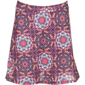 Globe-Trotter Skirt – Hot Coral Kaleidoscope