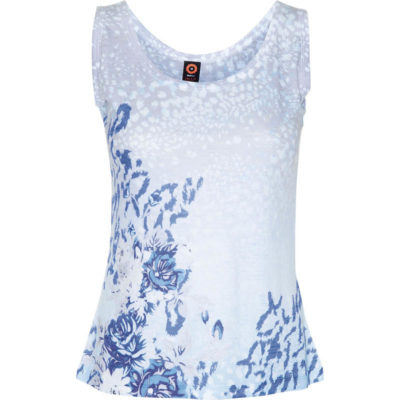 BURNOUT TANK – SAIL BLUE FLORAL
