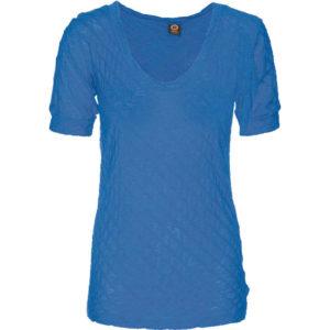 Krunch Vee-Neck – Lapis Blue