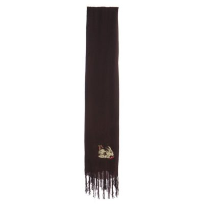 SCARF/WRAP – CHOCOLATE RABBIT