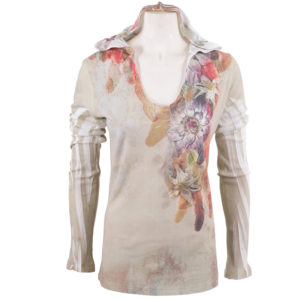 WAFFLE HOODY – SPICE FEATHERS