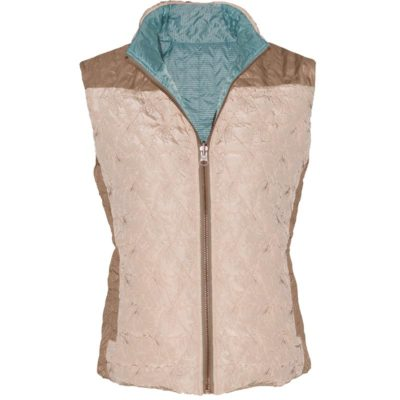 REVERSIBLE BISTRO VEST – FRENCH VANILLA/FROST BLUE