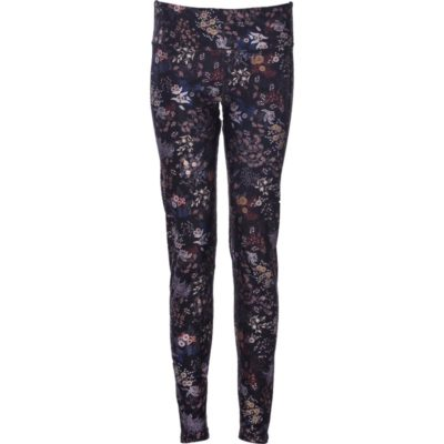 Globe-Trotter Leggings – Black Floral