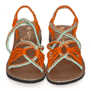 Summer Sandals – Coral