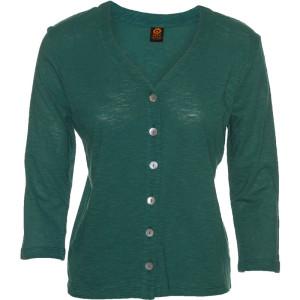 Chopped Cardigan – Moroccan Green