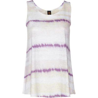 BURNOUT SUMMERTIME TANK – Violet Grunge Stripe