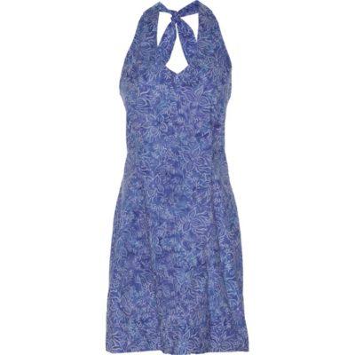 BATIK HALTER DRESS – Cobalt Blue