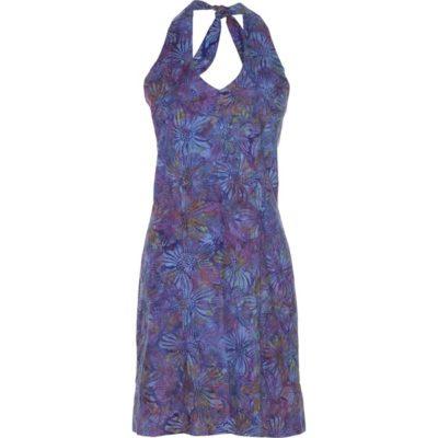 BATIK HALTER DRESS – Violet