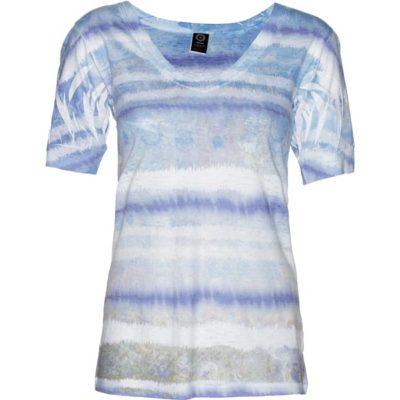 BURNOUT VEE – Cobalt Grunge Stripe