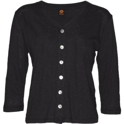 Chopped Cardigan – Black