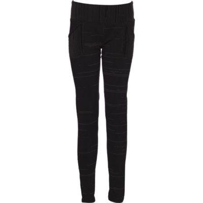 Stay Warm Legging – Black Grey