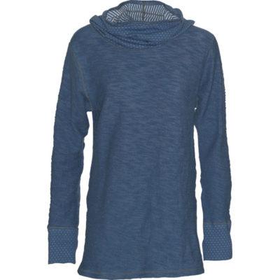 YOGA NECESSITY TOP – Athletic Blue