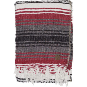 YOGA MEXICAN BLANKET – Red Tango